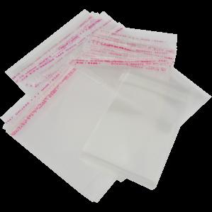 Пакетики с клеевым слоем для закатных значков