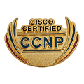 Значок Cisco certified CCNP